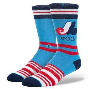 STANCE MLB Baseball Montreal Expos Socks M
